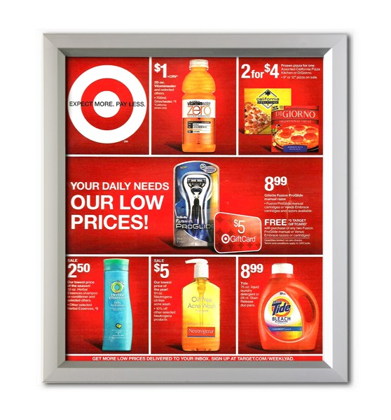 school poster frames corporate sign frames advertising poster frames