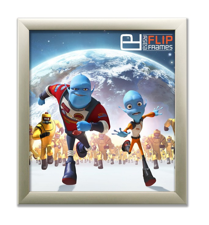 Aluminum Flip up Poster Frame - Escape from Planet Earth