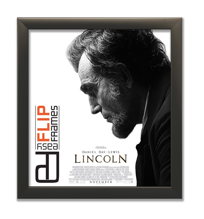 Flip up Poster Frame - Lincoln
