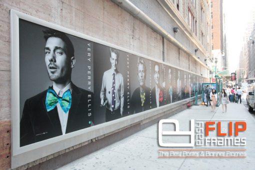 Wall mount Banner Frame, Banner mounting system, Flip Frames, Grip Frame, Banner Streth Frame, Advertising Display Frame