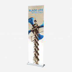 blade lite, banner stand, standing banner, banner display, vertical banner stand